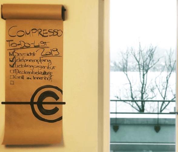 #compressogeflüster #compresso #agencylife #2019 #newstart #lieblingsagentur