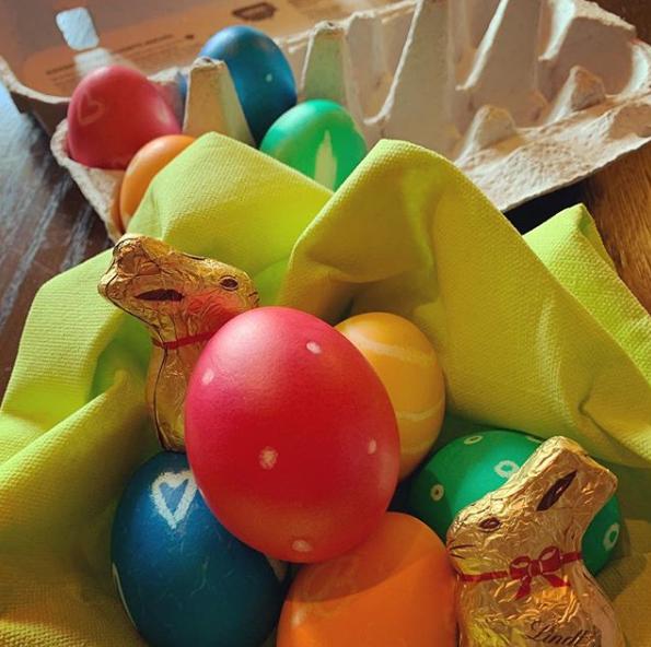 Frohe Ostern und viel Erfolg bei der Schoggi- und Ostereiersuche!