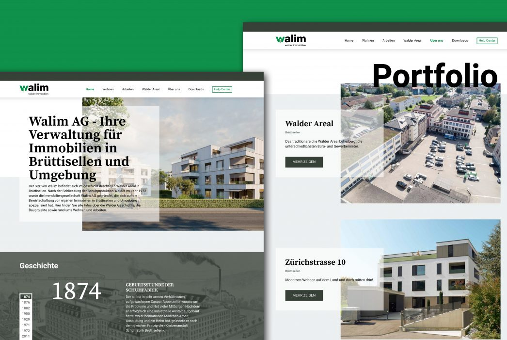 Walim AG – Website