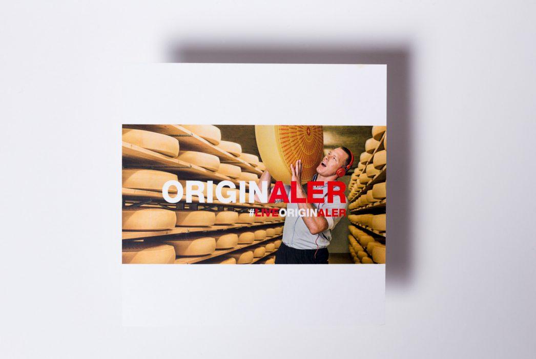 Emmentaler Switzerland – Originaler Kampagne