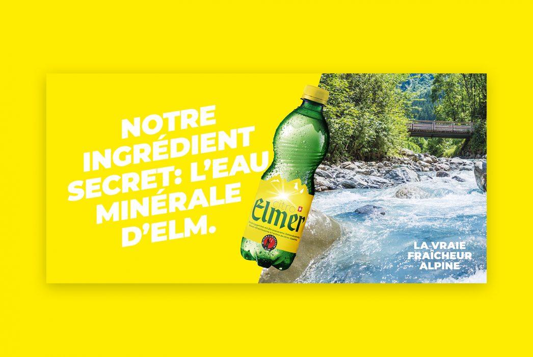 ELMER –  «Bergfrisch ehrlich»